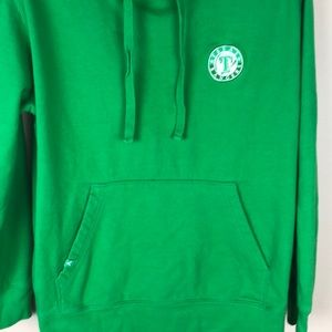 Antigua Shirts - Texas Rangers Green Sweatshirt Hoodie